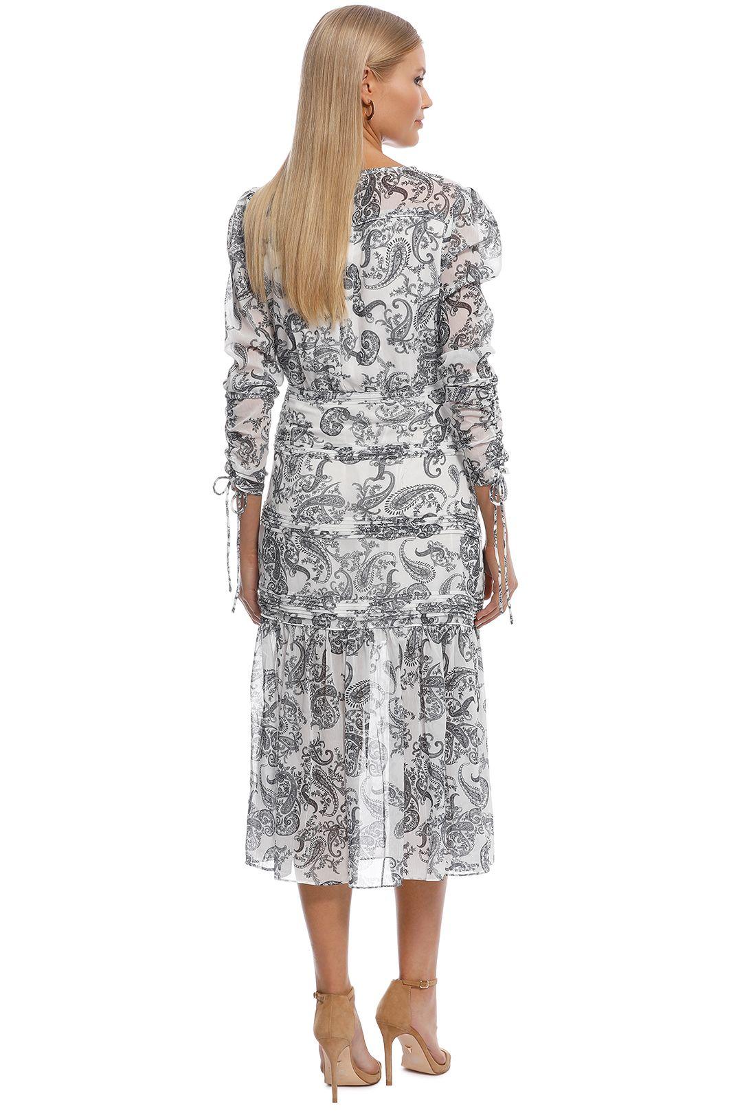 Stevie May - Cinema Midi Dress - Print - Back