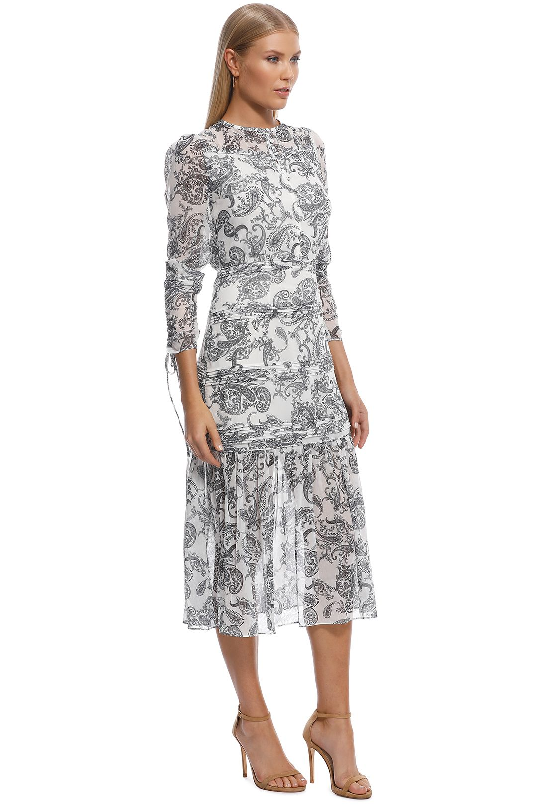 Stevie May - Cinema Midi Dress - Print - Side