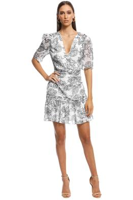 Stevie May - Cinema Mini Dress - Print - Front