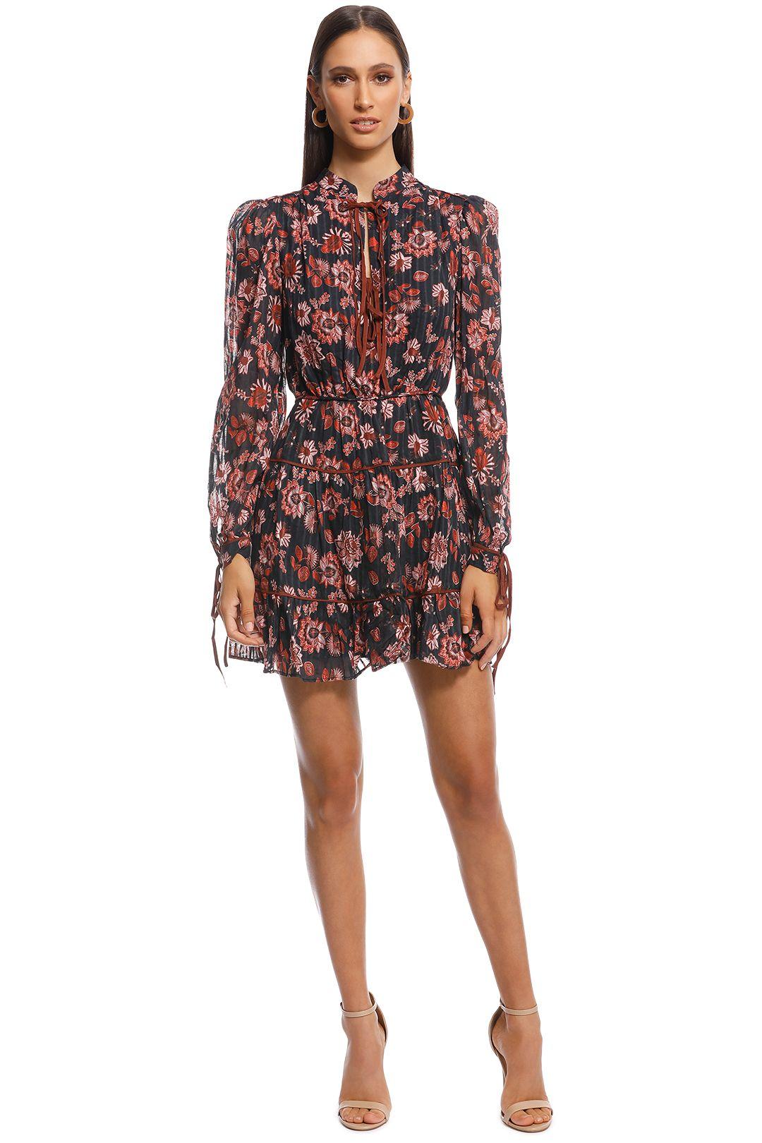 Stevie May - Dakota Mini Dress - Print - Front