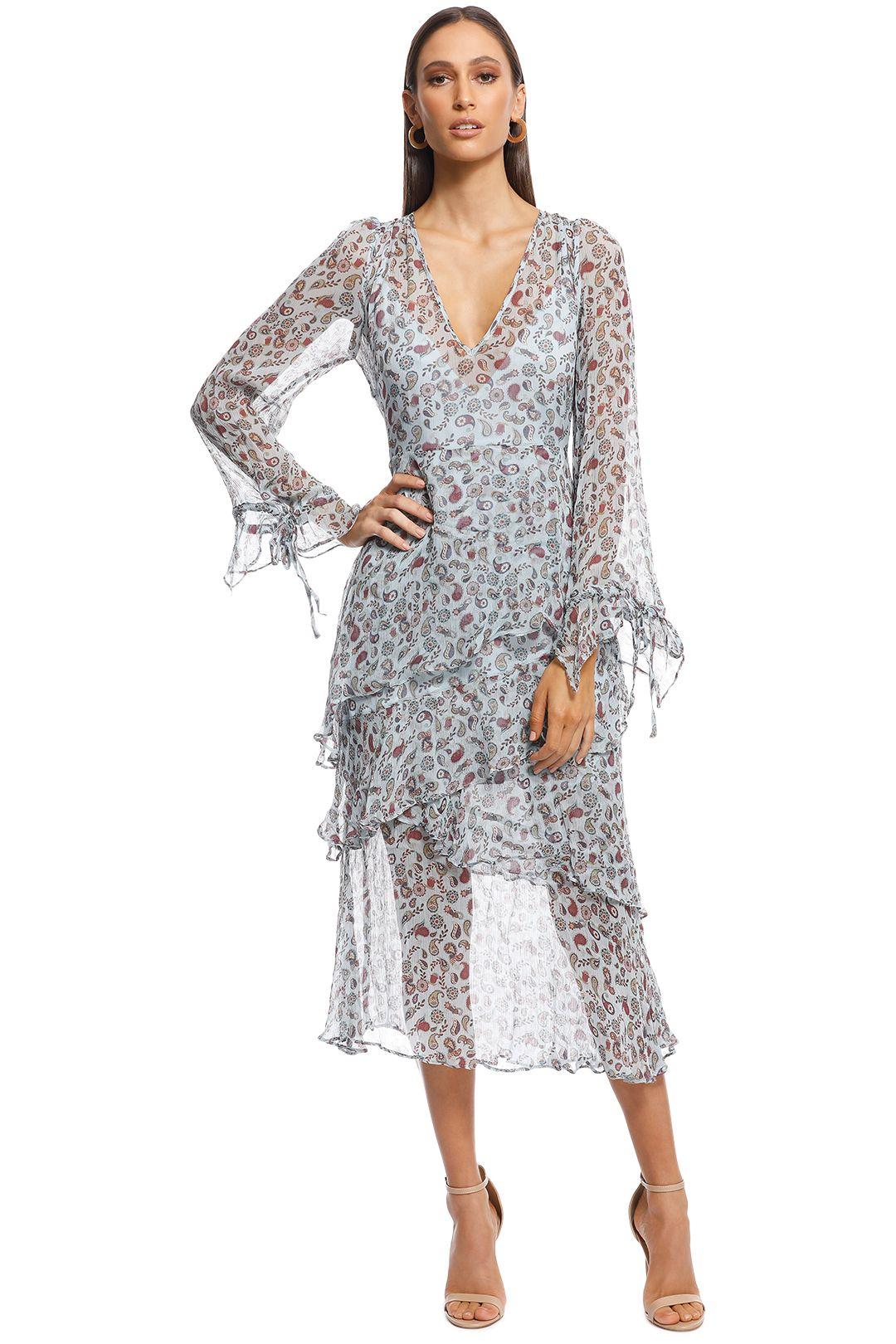 Stevie May - Delilah Midi Dress - Blue - Front