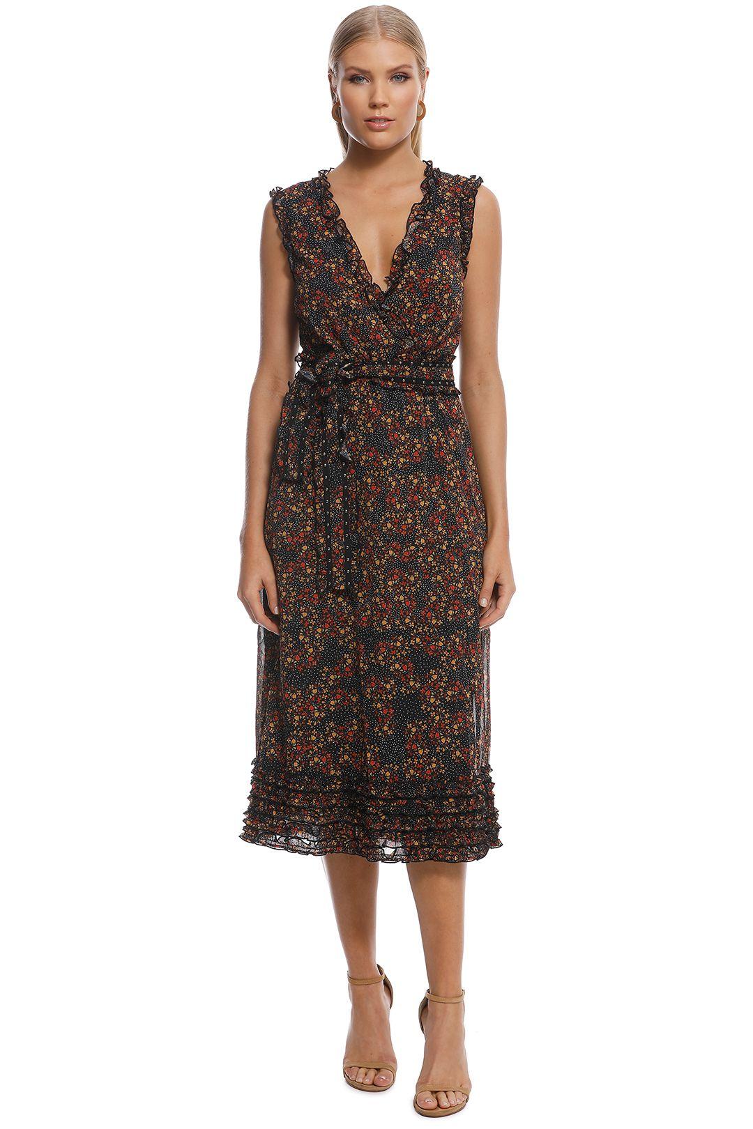 Stevie May - Monarch Midi Dress - Print - Front