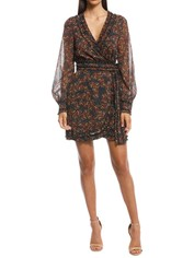 Stevie May - Monarch Mini Dress - Print - Front