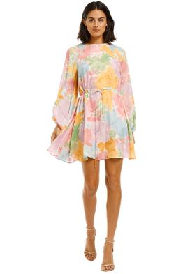 Stine-Goya-Coco-Dress-Rose-Garden-Pastel-Front