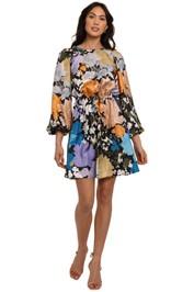 Stine Goya Coco Mulitcoloured Mini Dress floral