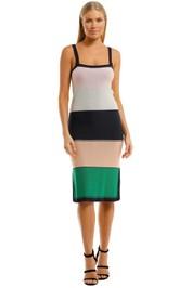 Suboo-Elvira-Knit-Dress-Multi-Front