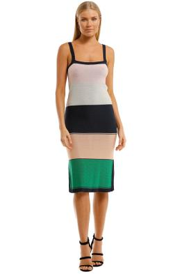 Suboo-Elvira-Knit-Dress-Multi-Front