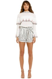 Suboo-Straighty-180-Tie-Waist-Shorts-White-Stripes-Front