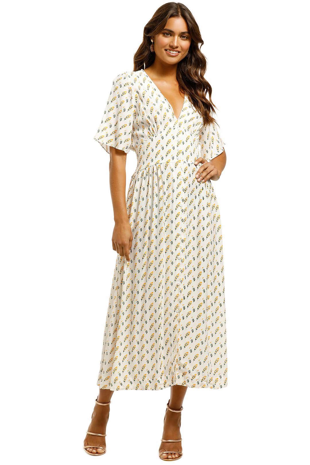 SWF-Button-Down-Dress-Meadow-Front