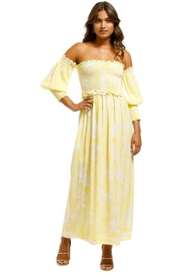 SWF-Off-Shoulder-Maxi-Paisley-Lemon-Front