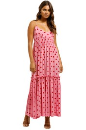 SWF-Paradise-Pink-Maxi-Dress-Paradise-Pink-Front