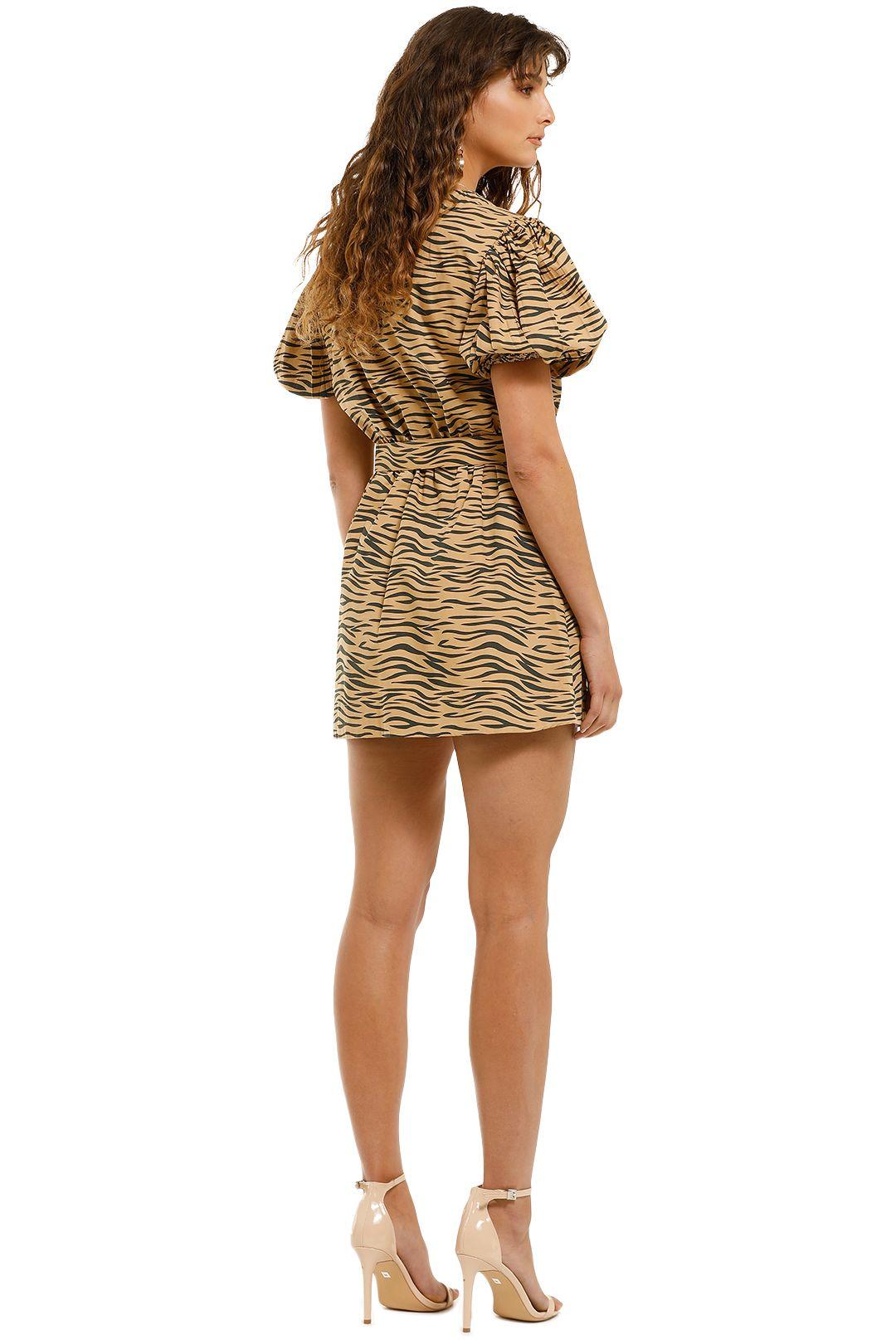 SWF-Tiger-Mini-Dress-Tiger-Print-Back