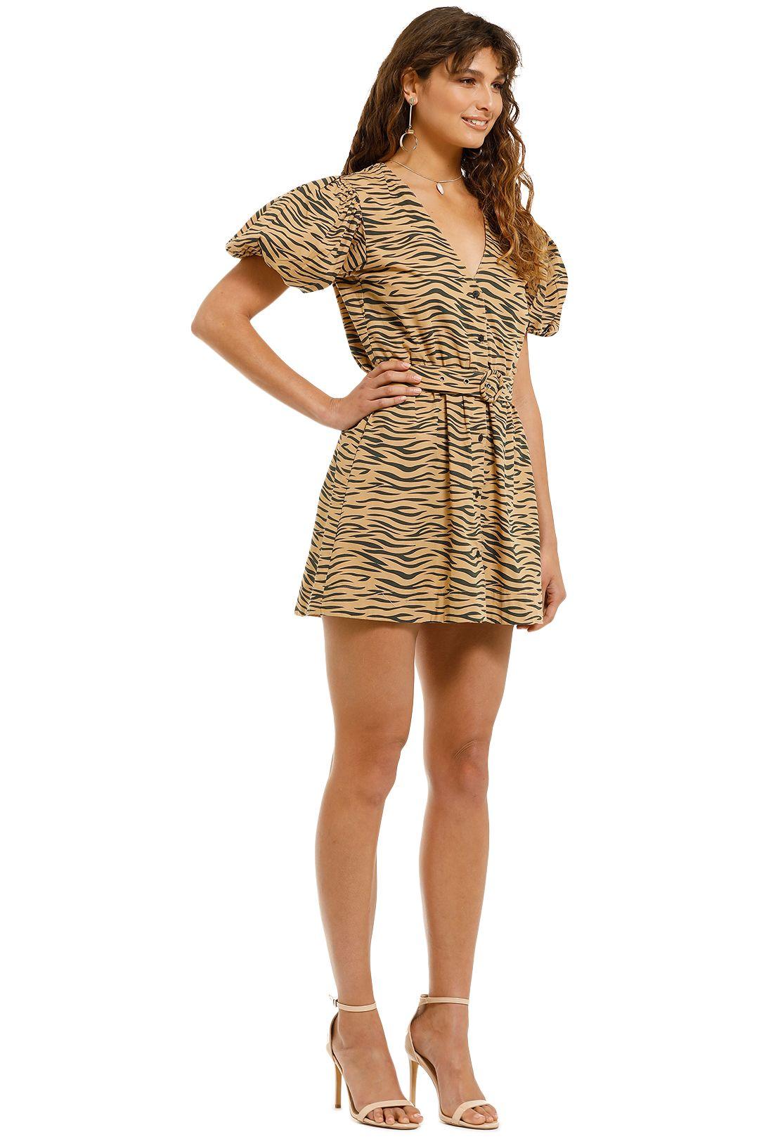 SWF-Tiger-Mini-Dress-Tiger-Print-Side