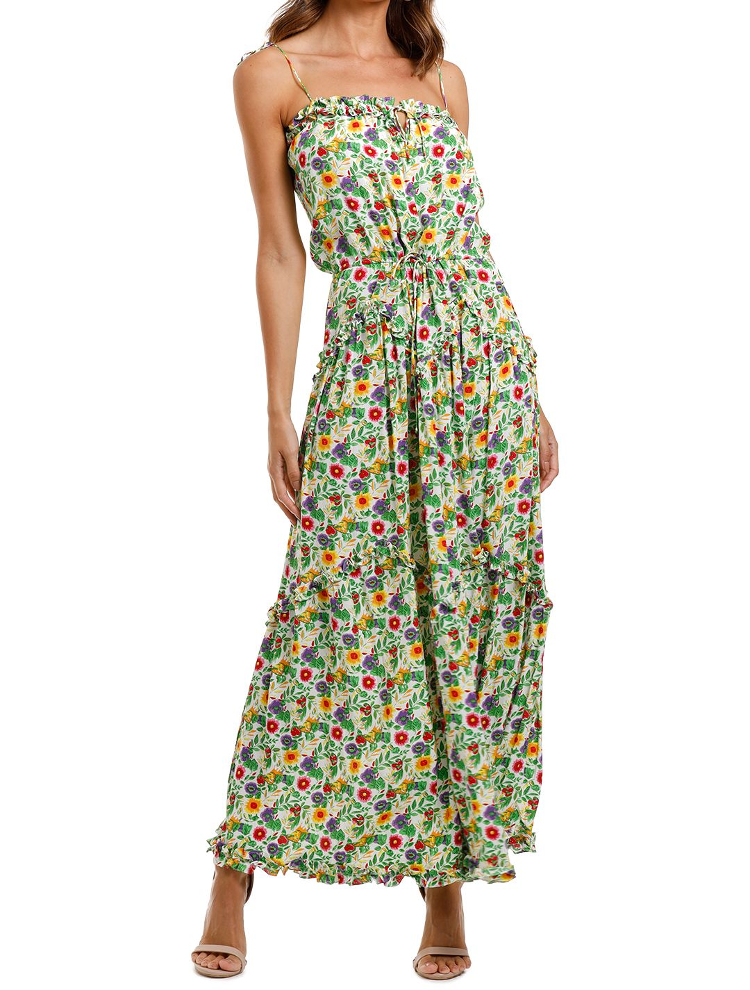 SWF Dynamic Dress multi floral