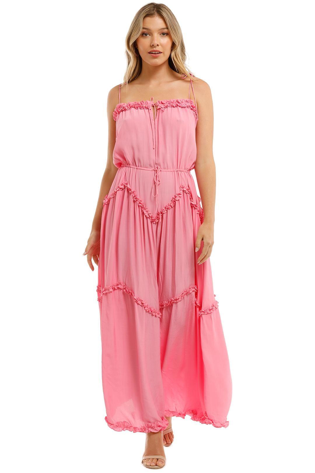 SWF Dynamic Dress Pink Maxi