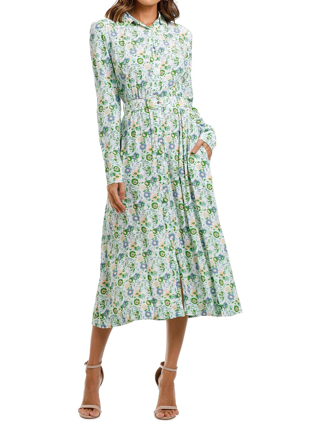SWF Long Sleeve Shirt Dress long sleeve
