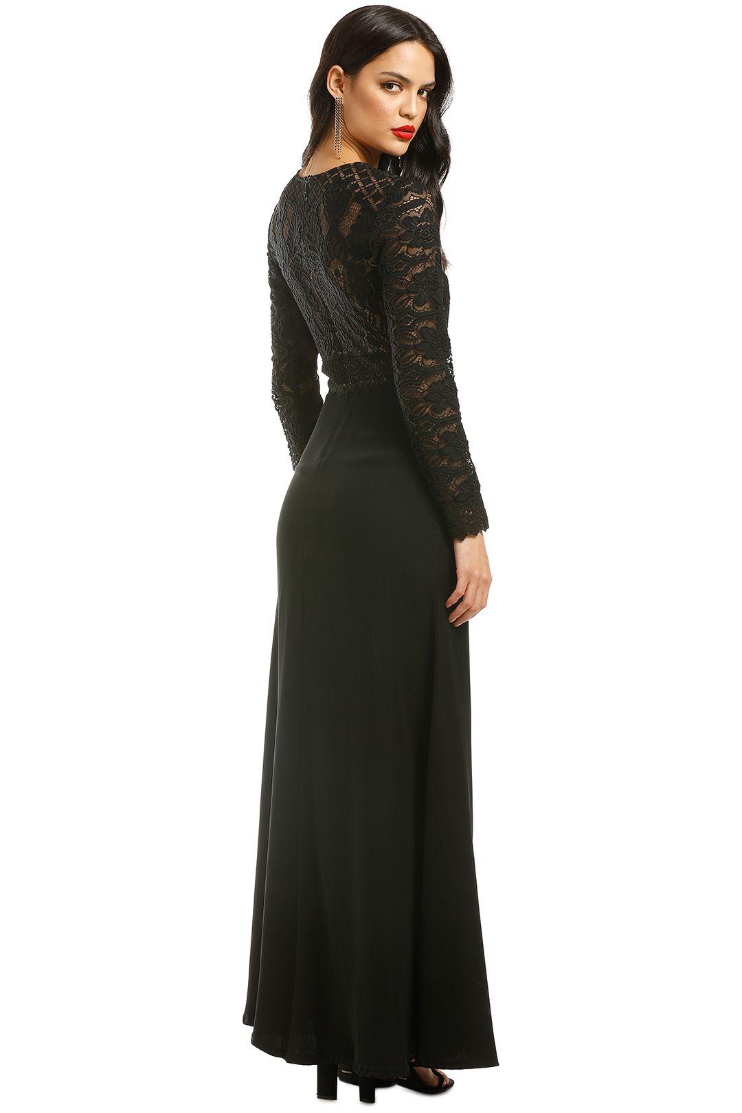 Tadashi-Shoji-Benes-Long-Sleeve-Gown-Black-Back