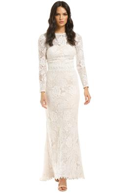 Tadashi-Shoji-LS-Lace-Gown-Ivory-Front