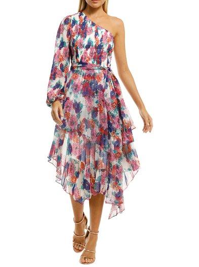 Talulah - Always You Midi Dress - Floral Fantasia Print