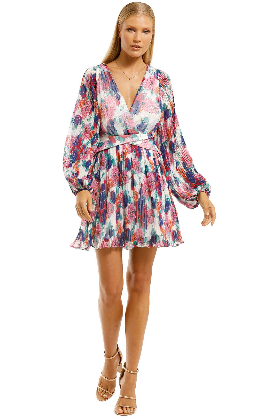 Talulah-Always-You-Mini-Dress-Floral-Fantasia-Print-Front