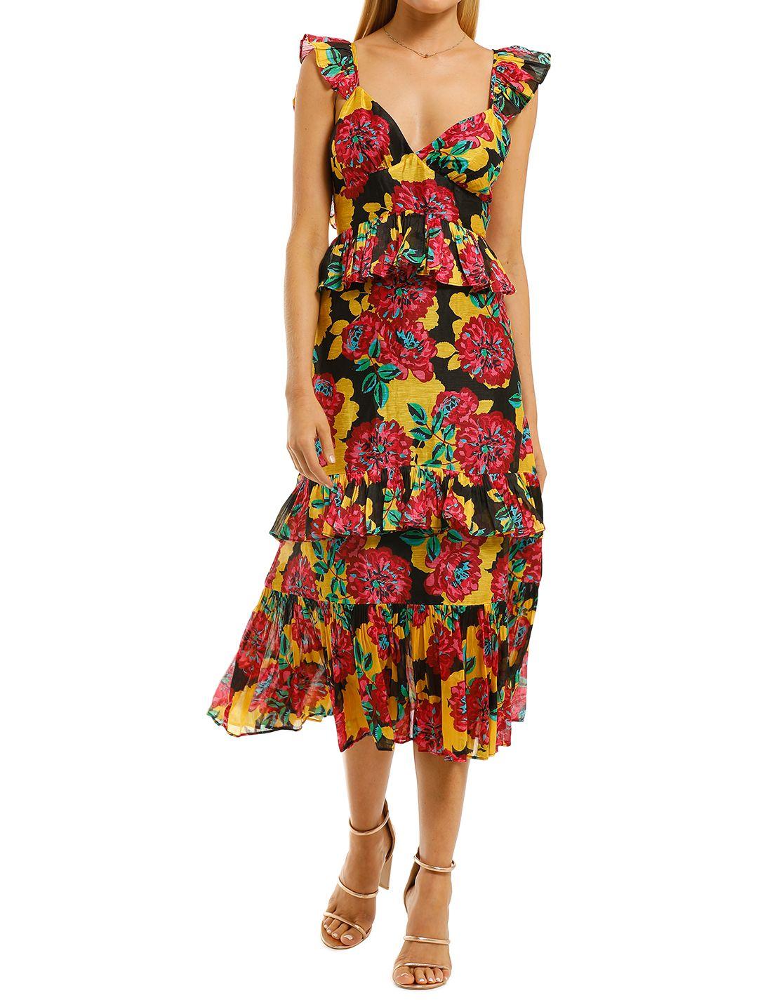 Talulah-Barcelona-Bloom-Midi-Dress-Bright-Bloom-Front
