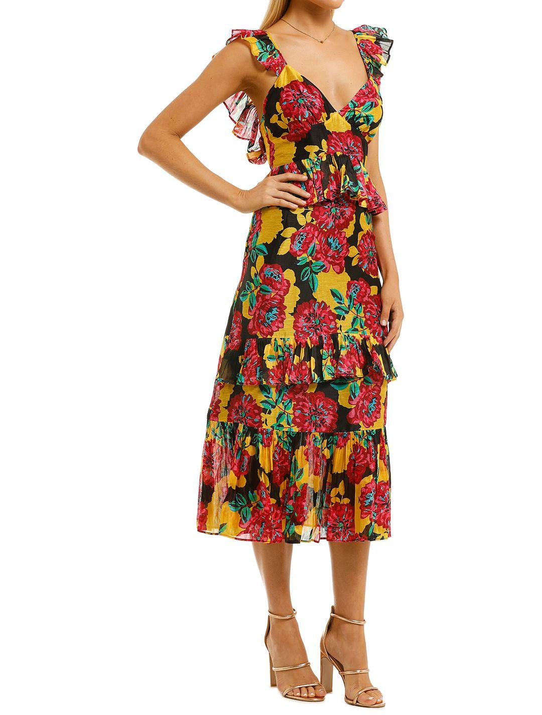 Talulah-Barcelona-Bloom-Midi-Dress-Bright-Bloom-Side