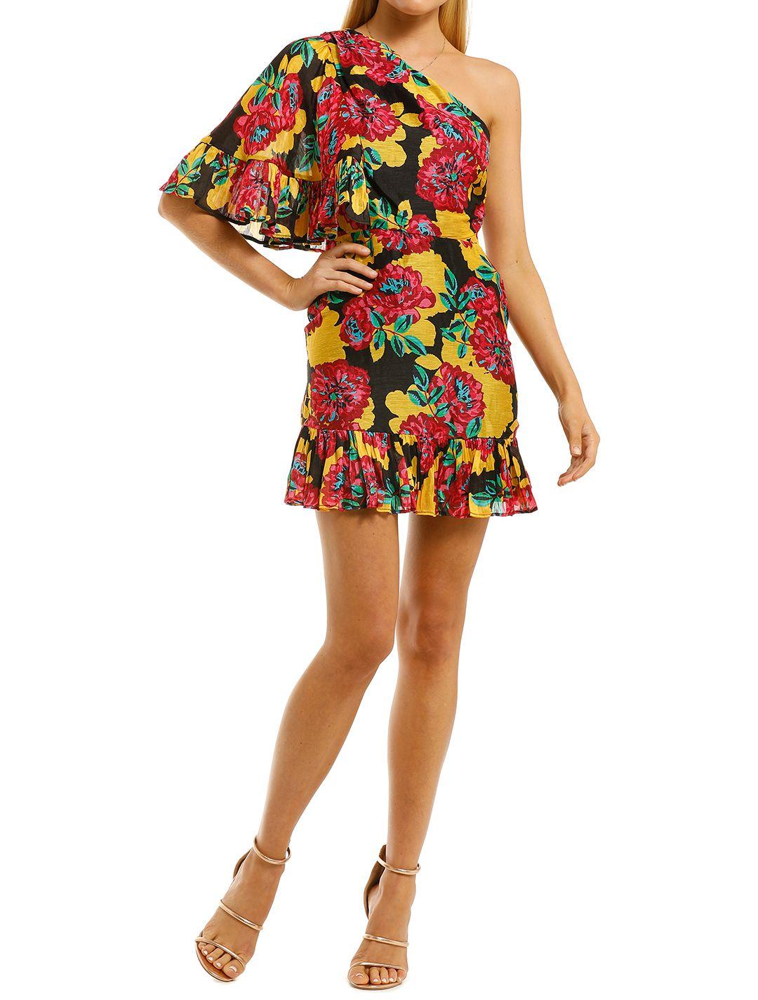 Talulah-Barcelona-Bloom-Mini-Dress-Bright-Bloom-Front