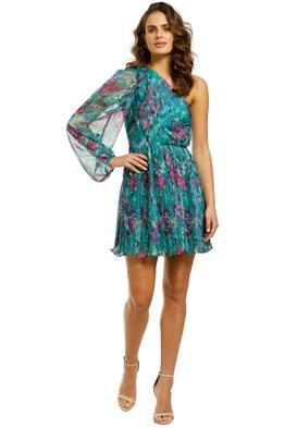 Talulah-Barcelona-Nights-Mini-Dress-Watercolour-Floral-Print-Front