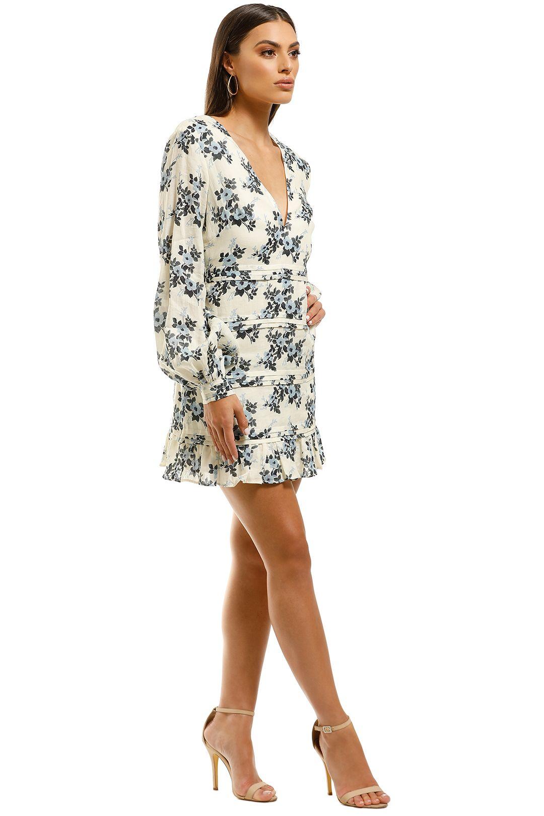 Talulah-Blue-Belle-Mini-Dress-Floral-Side