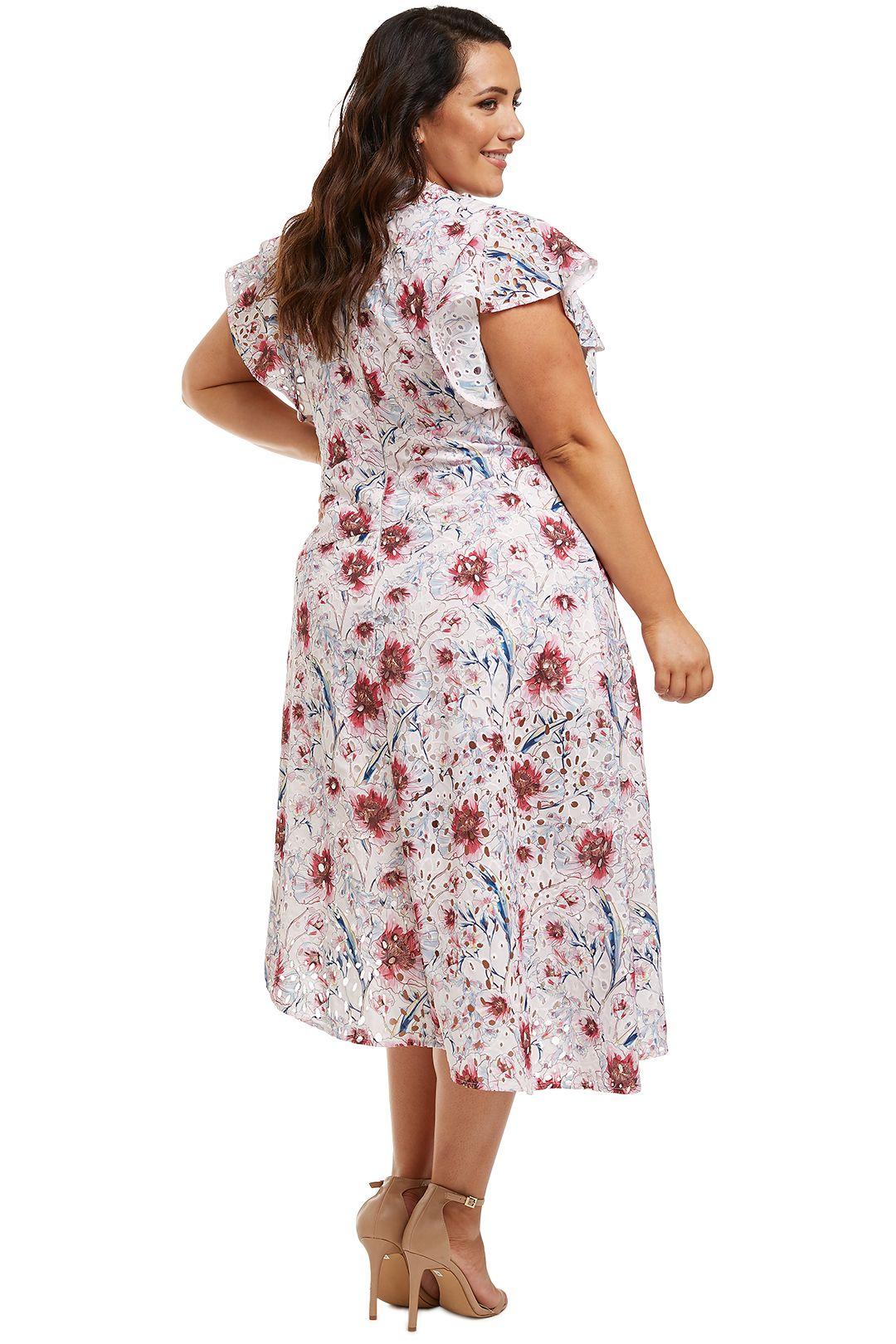 Talulah-Bonita-Midi-Dress-Casablanca-Print-Back