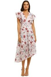 Talulah-Bonita-Midi-Dress-Casablanca-Print-Front
