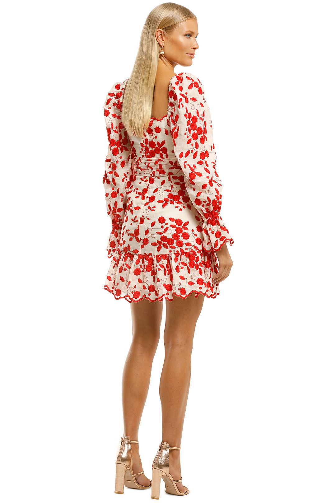 Talulah-Endless-Love-Mini-Dress-Floral-Embroidery-Back