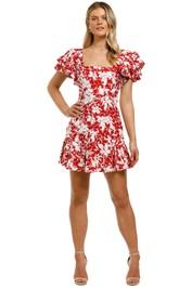 Talulah-Idol-Mini-Dress-Rococco-Floral-Front