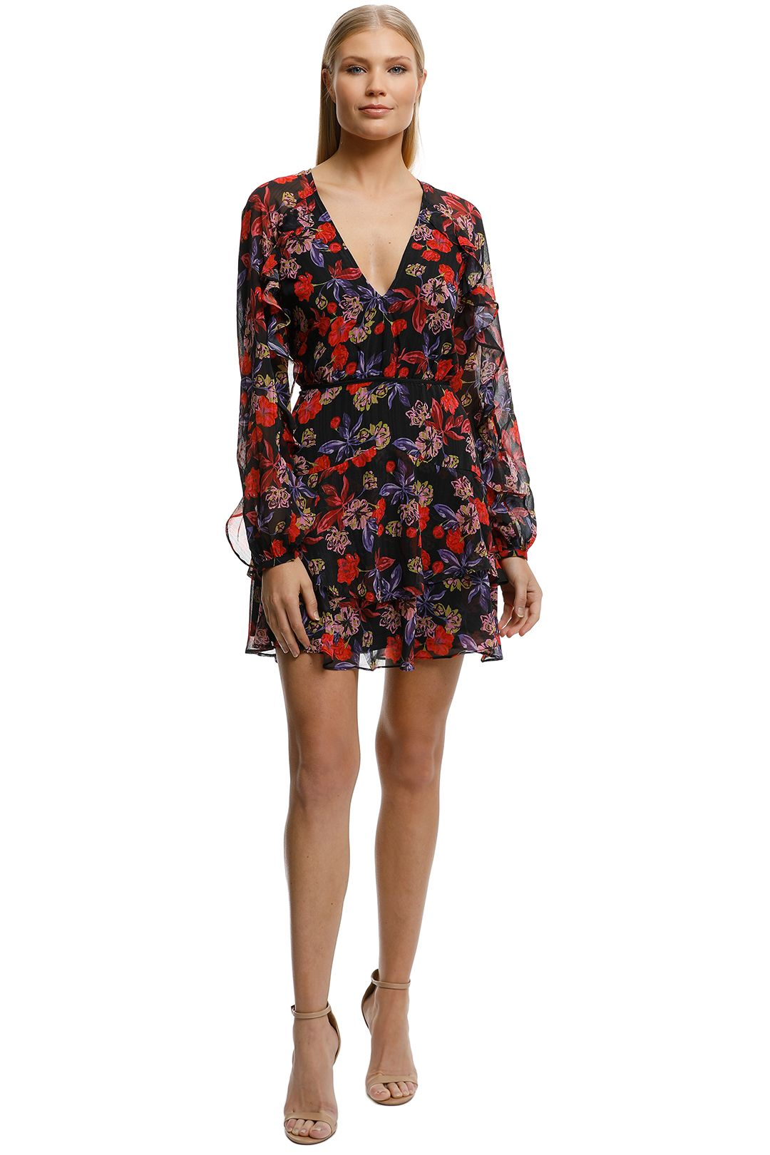 Talulah-Love-Token-Mini-Dress-Vintage-Floral-Front