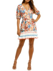 Talulah-Merengue-Mini-Dress-Tropicana-Floral-Front