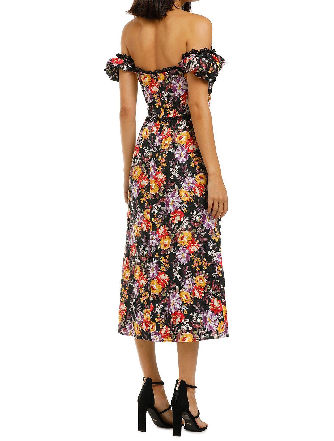 Talulah-Mimosa-Floral-Midi-Dress-Mimosa-Floral-Print-Back