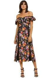 Talulah-Mimosa-Floral-Midi-Dress-Mimosa-Floral-Print-Front