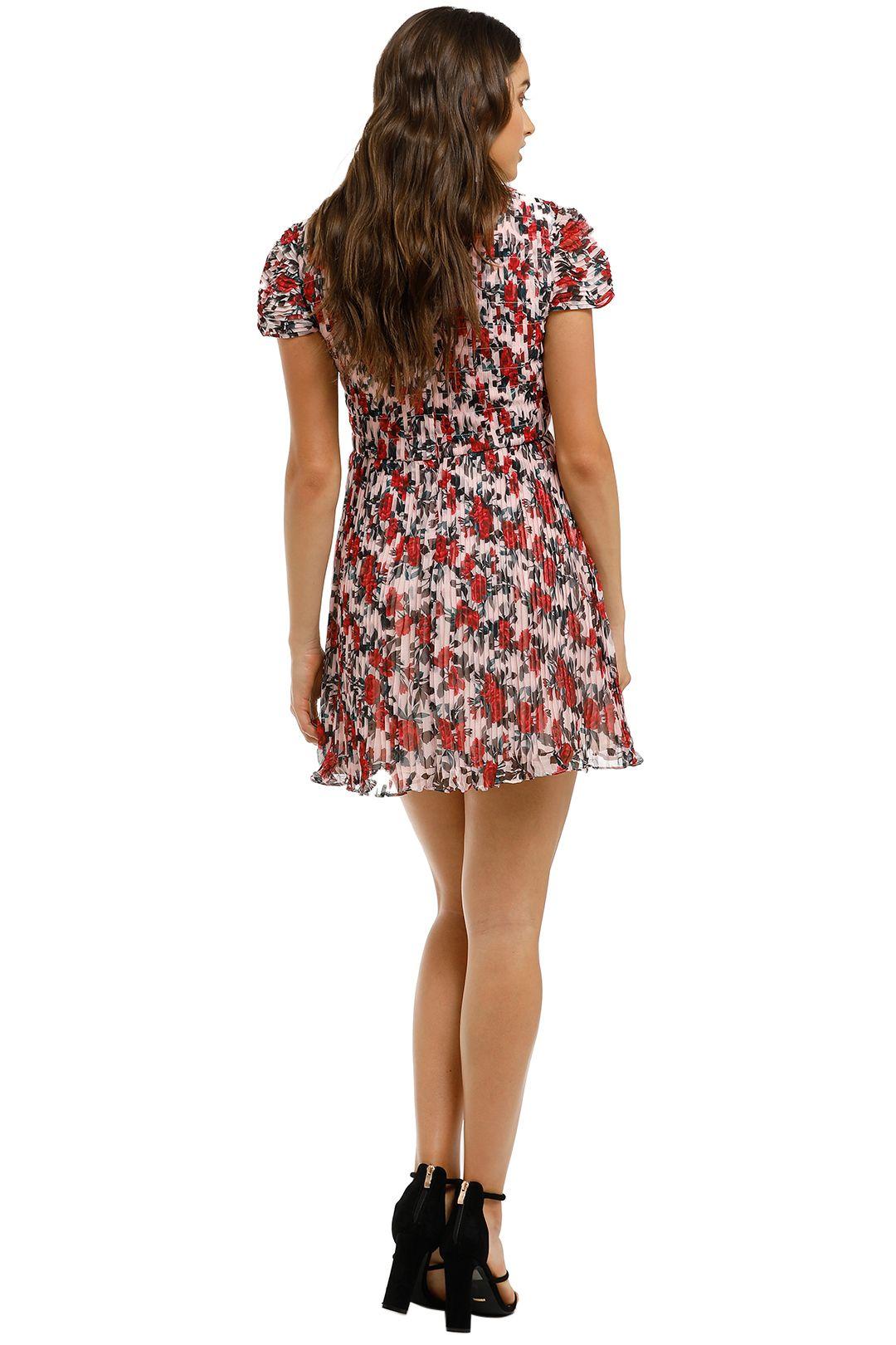 Talulah-Roseto-Mini-Dress-Roseto-Floral-Back