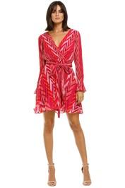Talulah-Sugar-&-Spice-LS-Mini-Dress-Tango-Stripe-Front