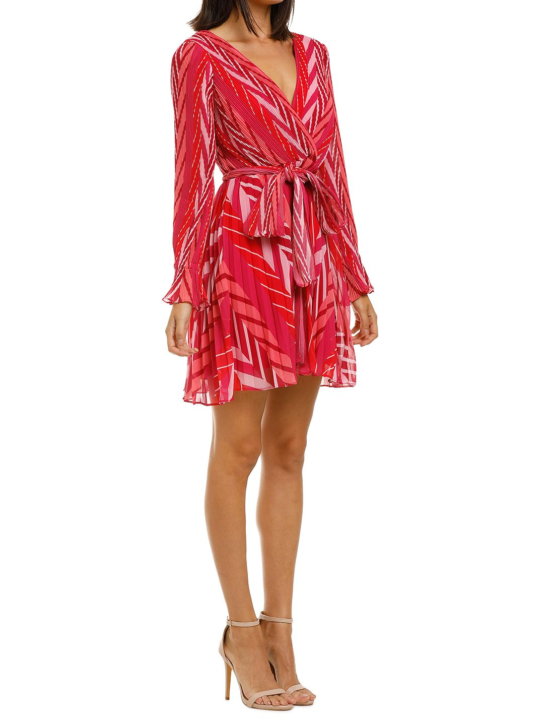 Talulah-Sugar-&-Spice-LS-Mini-Dress-Tango-Stripe-Side