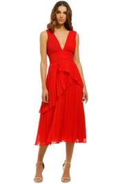 Talulah-Sugar-and-Spice-Midi-Dress-Red-Front