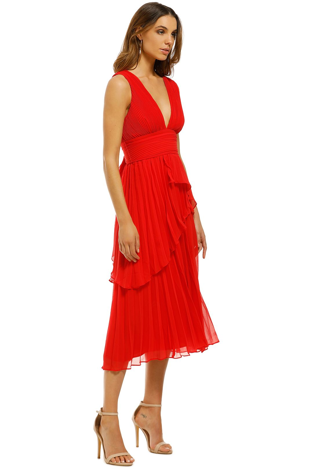 Talulah-Sugar-and-Spice-Midi-Dress-Red-Side