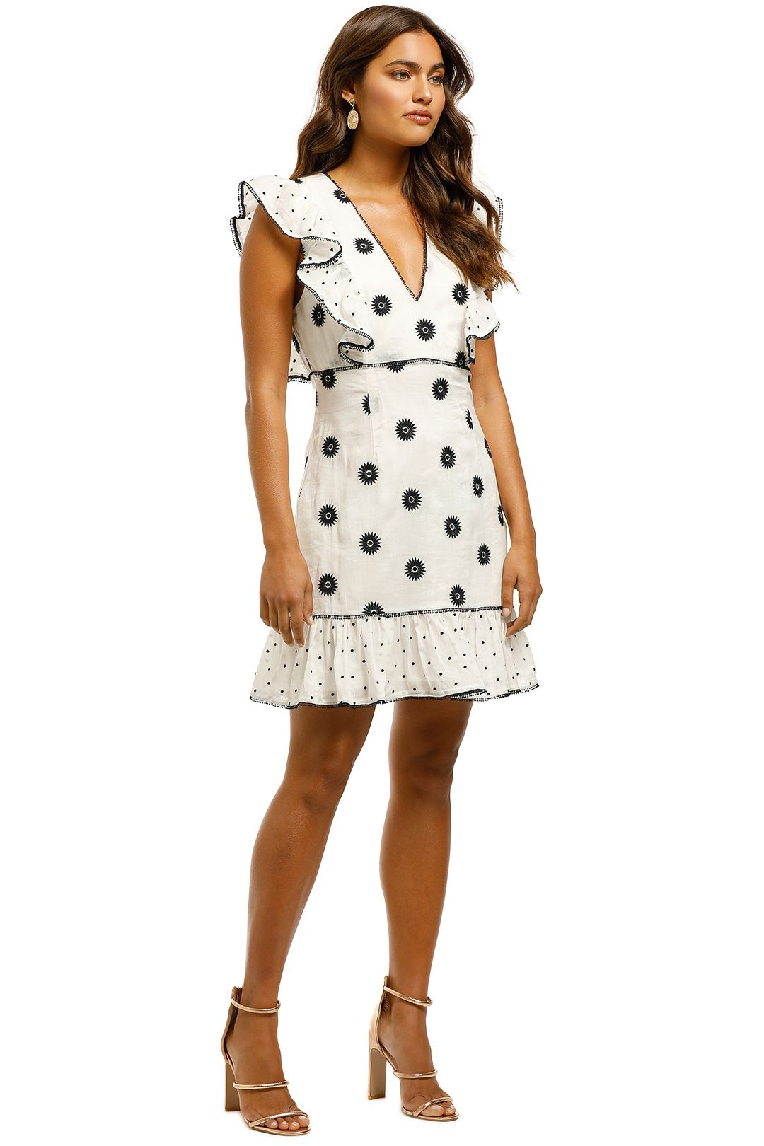 Talulah-Whimsical-Mini-Dress-Morning-Daisy-Side