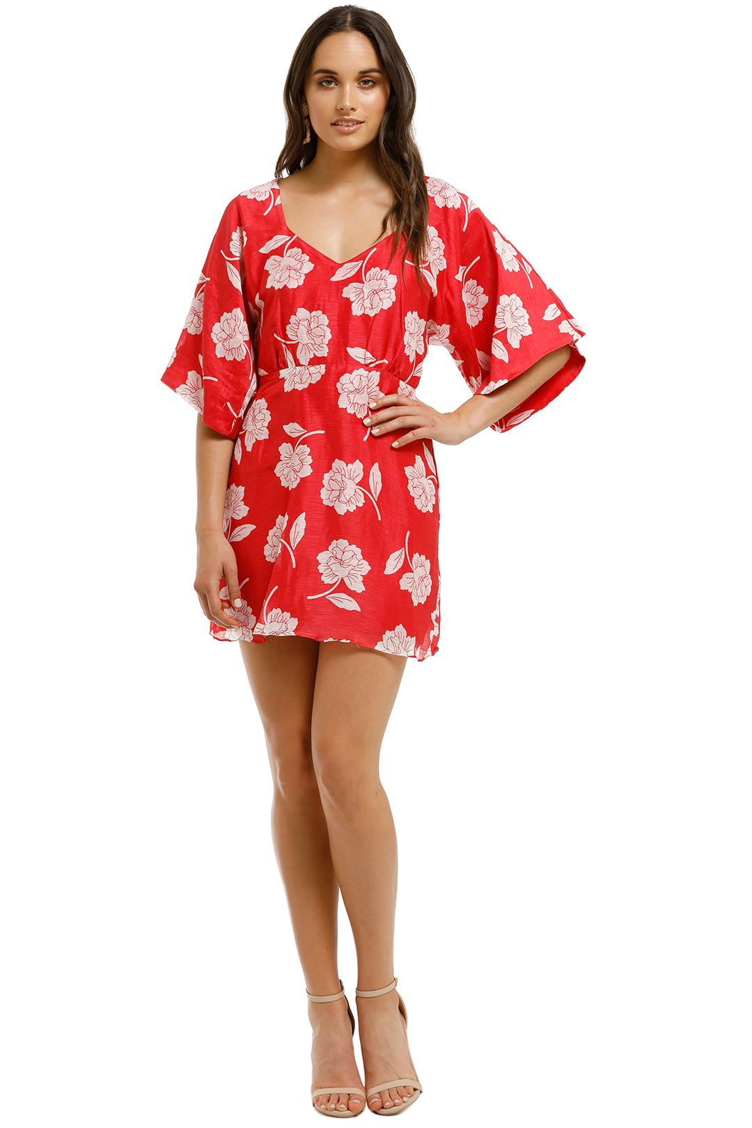 Talulah-Wild-Poppy-Mini-Dress-Yayoi-Floral-Front