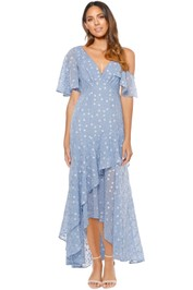 Talulah - Ardency Maxi Dress - Pastel Blue - Front