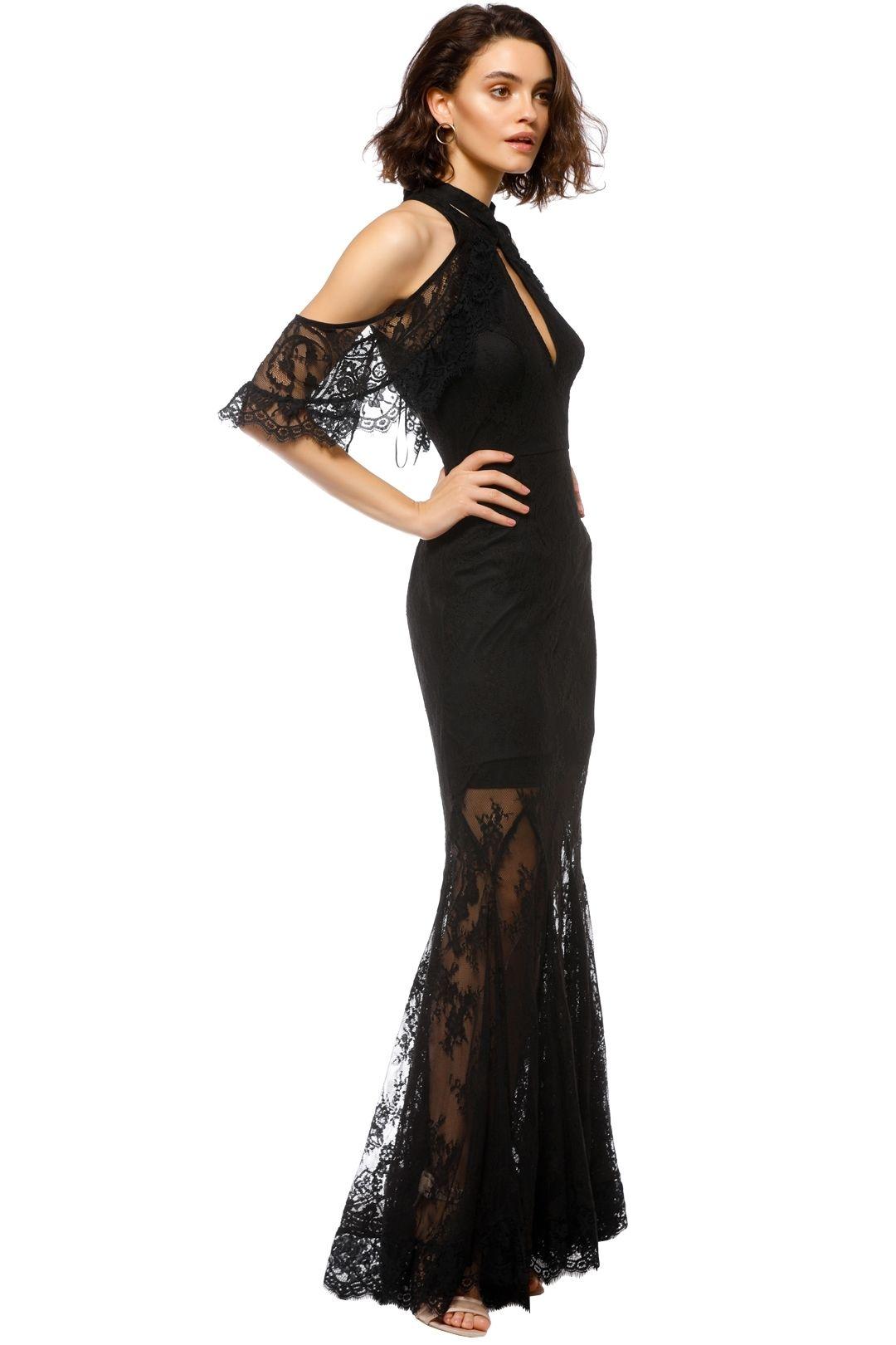 Talulah - Blind Love Gown - Black - Side