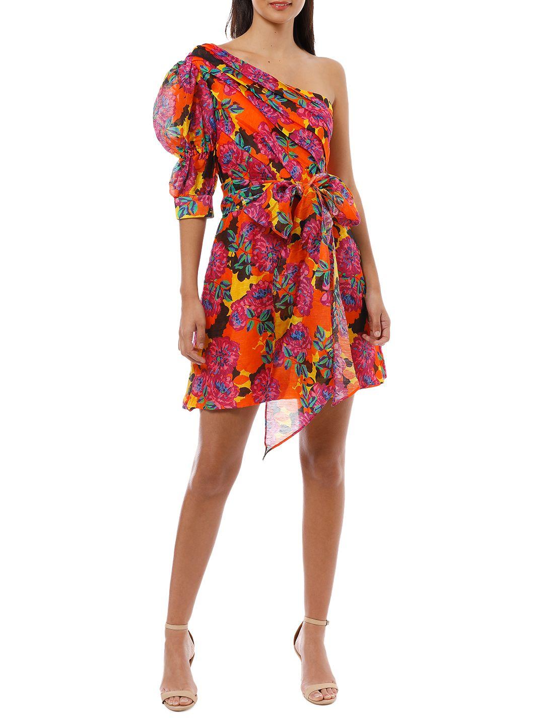 Talulah - Blossom Mini Dress - Multi - Front