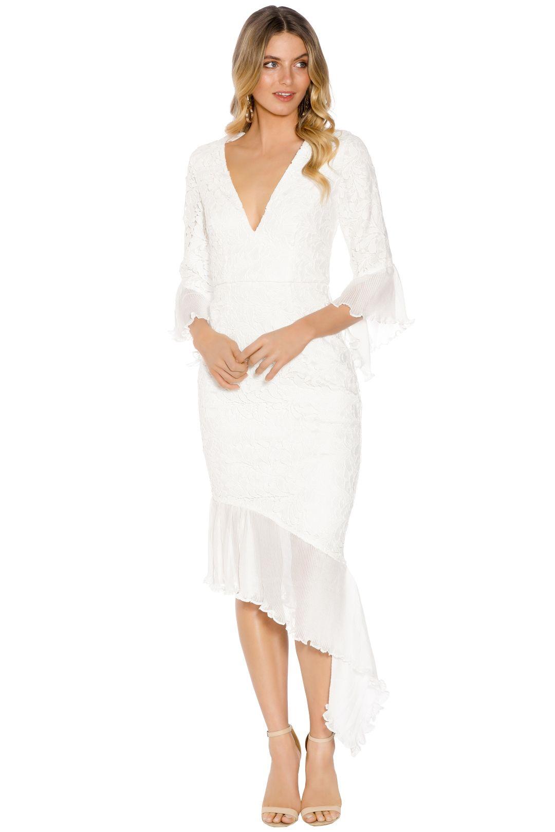 Talulah - Cassatt Midi Dress - White - Front