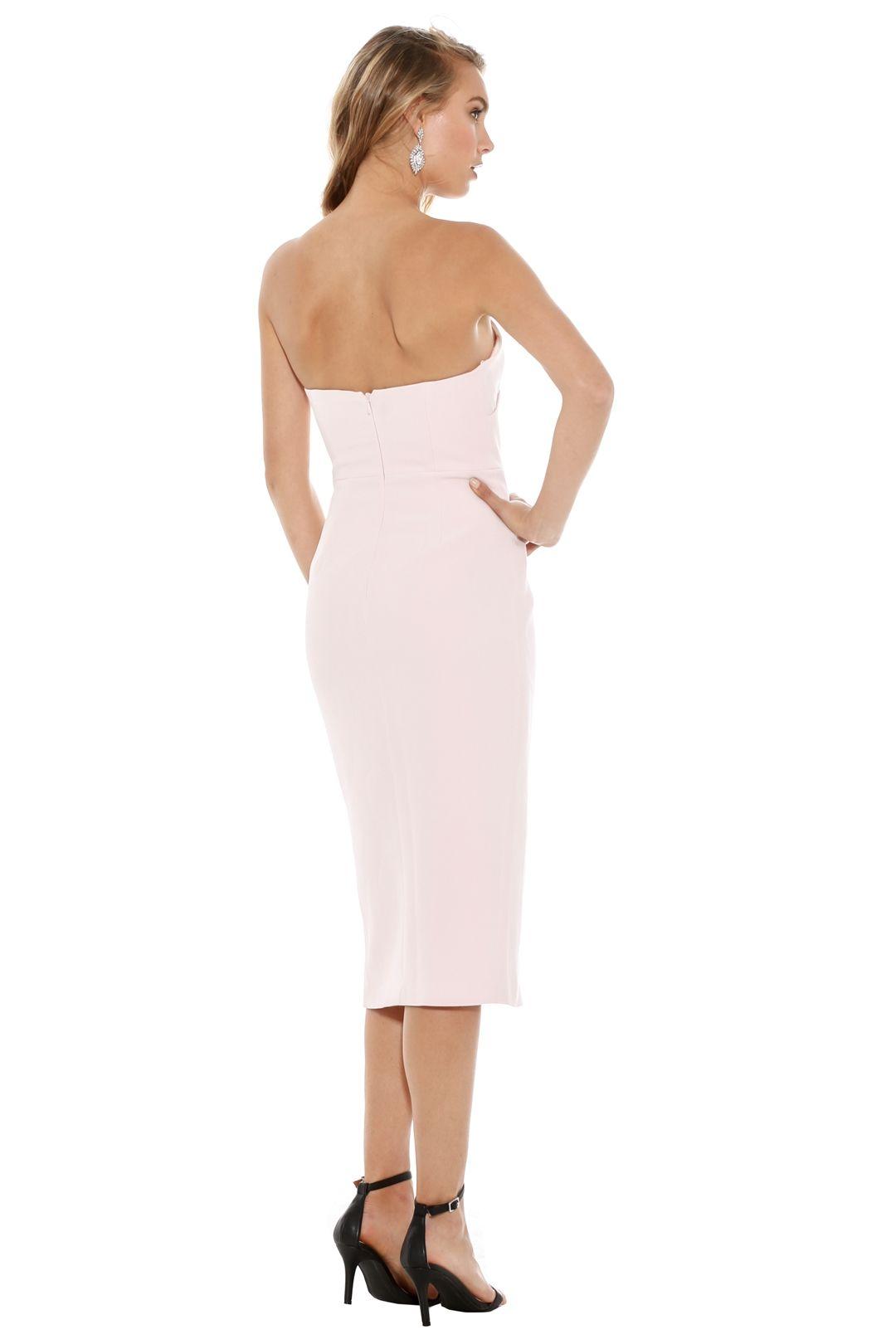 Talulah - Could It Be Midi Dress - Light Pink - Back
