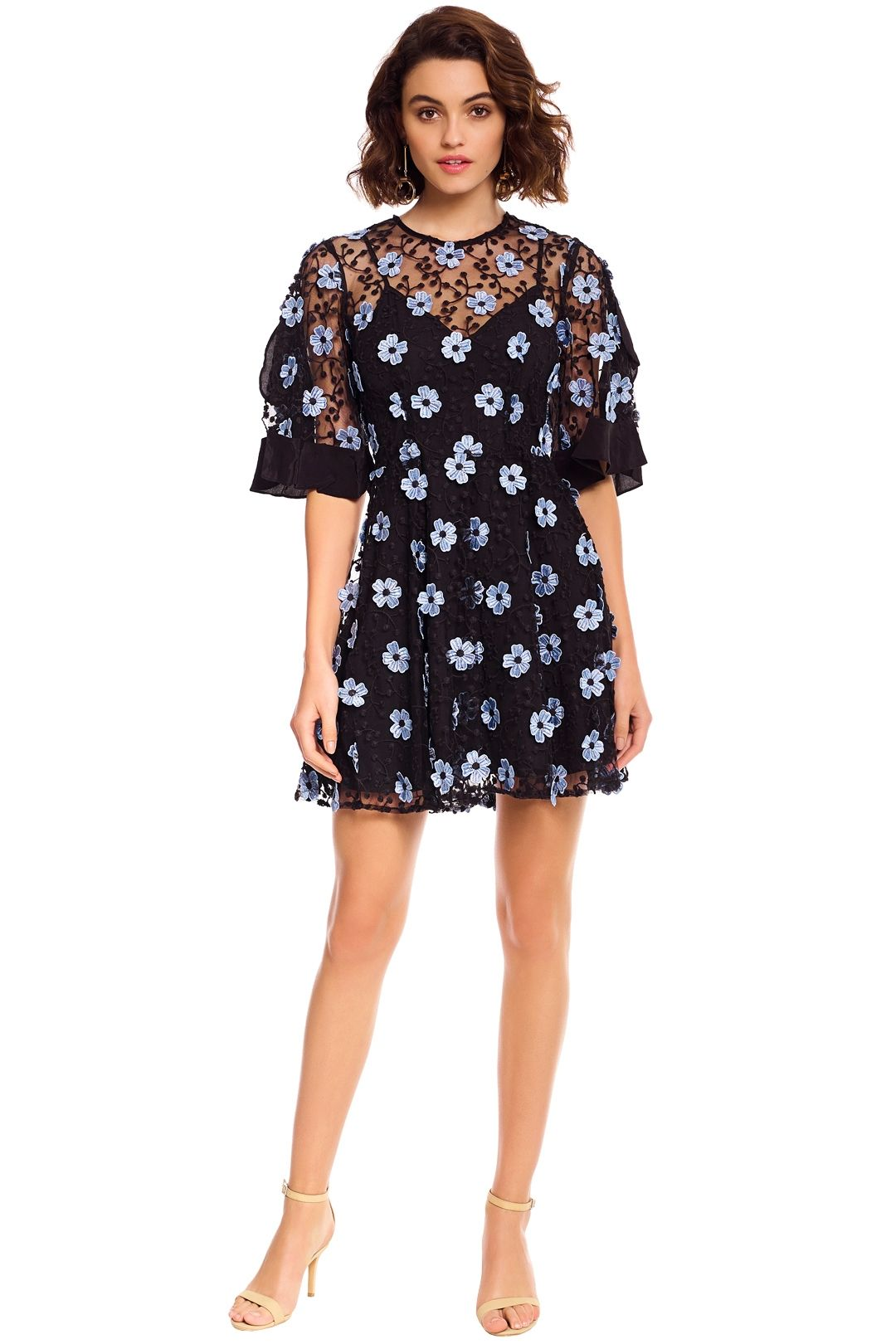 Talulah - Crave You Mini Dress - Black - Front